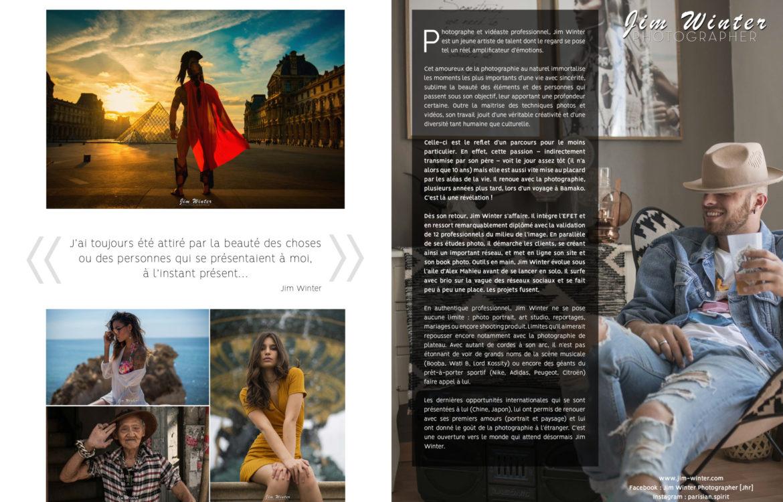 Article sur mon parcours dans le nouveau Crush Magazine